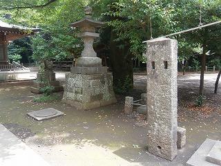 北野内灯籠