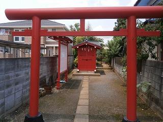 海蔵寺稲荷拝殿
