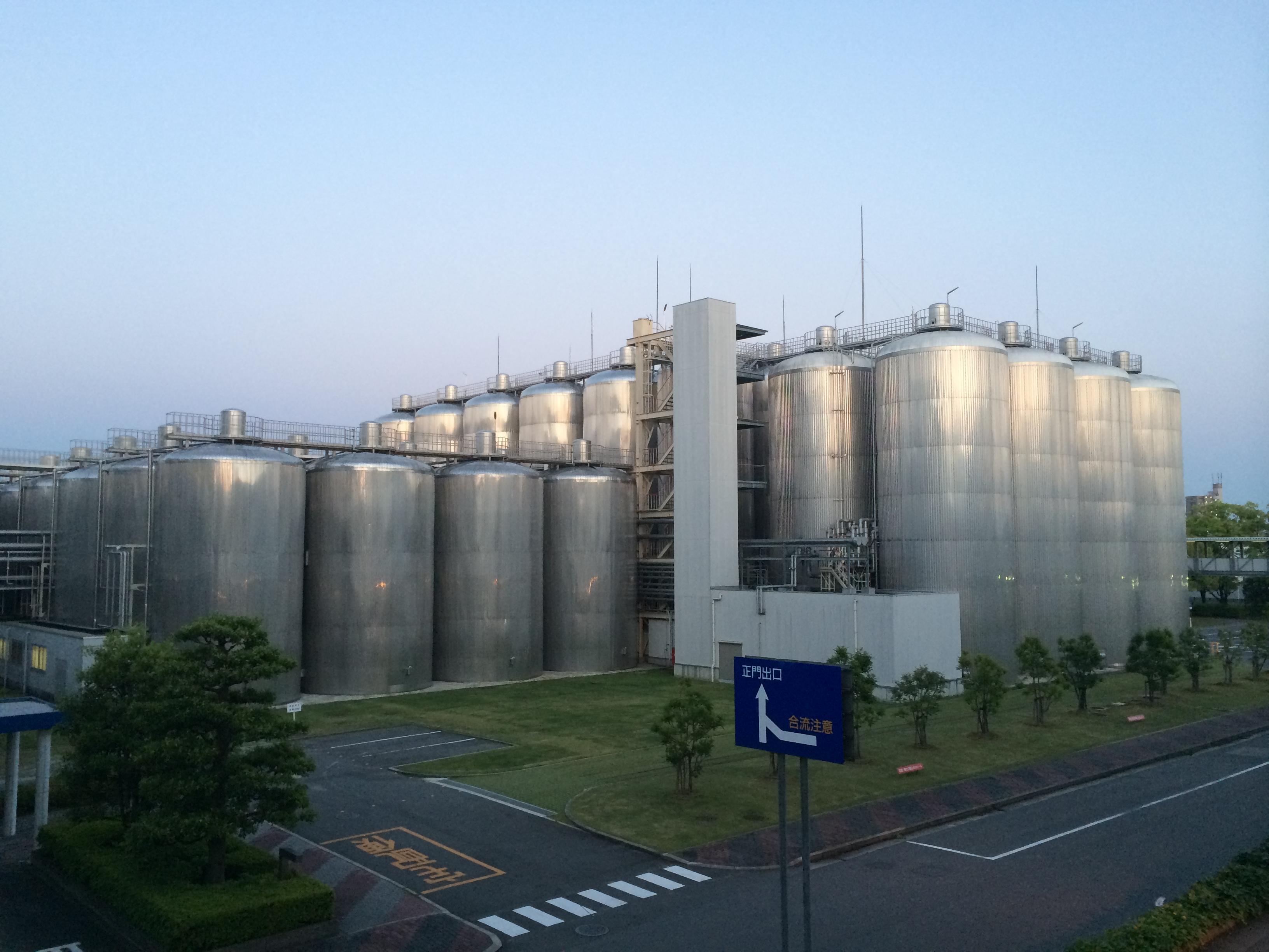 アサヒビール工場3