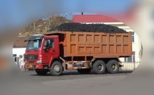 石炭トラック 中国1