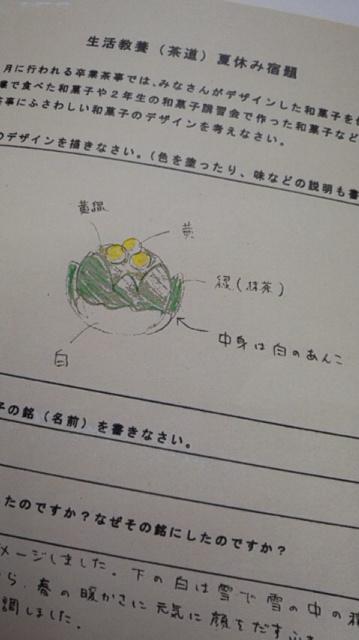 140205_130505福島高校 上生菓子