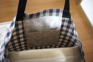 円座入れバッグ-内ポケット140312