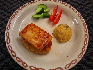 豆腐&ハンバーグ2