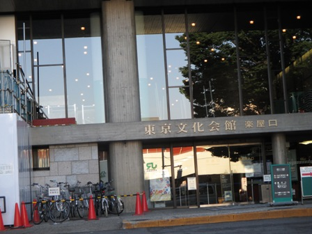 2014年HIROSHIコンサート・東京文化会館楽屋口