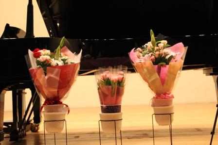 2014Tutti ステージ上の花