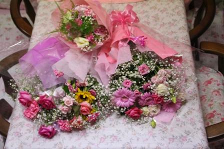 2014Tutti 生徒さんからのお花