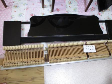 ピアノ鍵盤修理後②