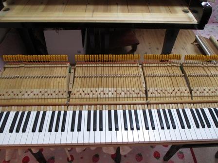 ピアノ鍵盤修理後③