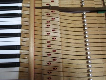 ピアノ鍵盤修理後④