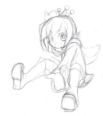 さかな王子 ラフ