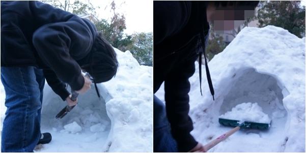 大雪で5-1 14-2