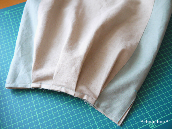 ハーフリネン 袋