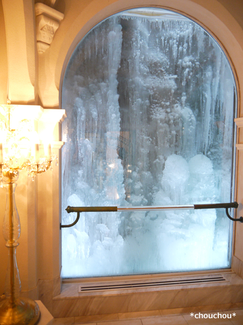 雪の美術館 氷
