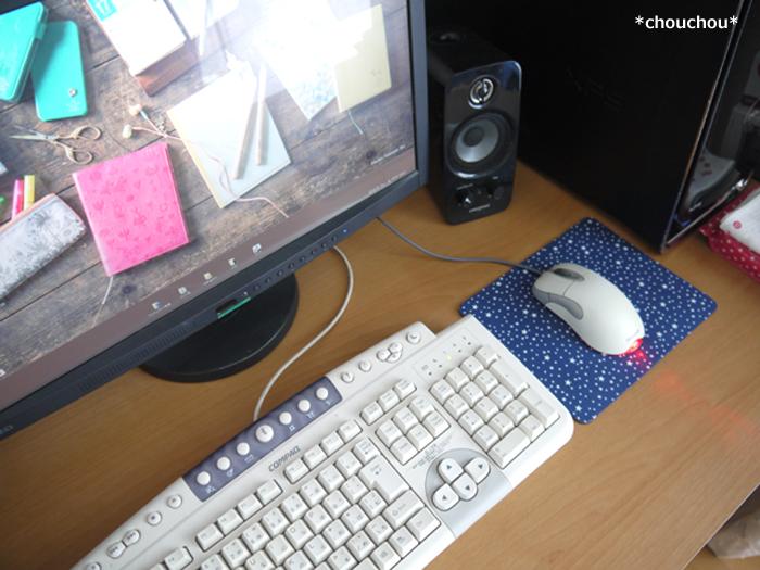 マウスパッド STARRY パソコン