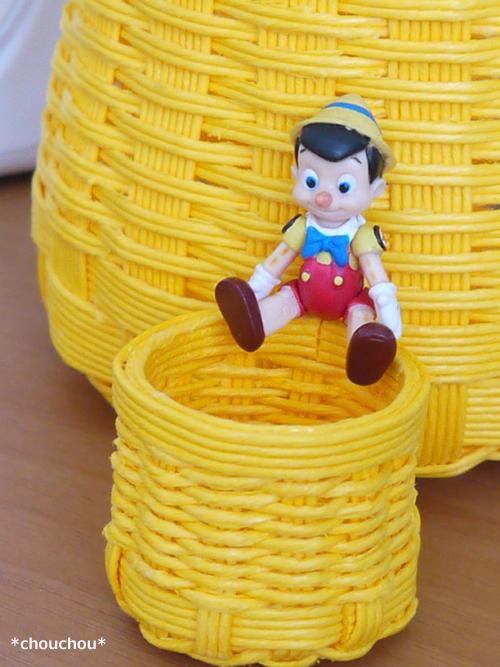 ミニかご ピノキオ