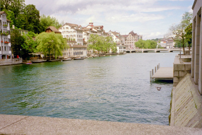 rathausbridge Limmat River