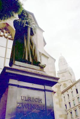 zwingli statue