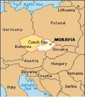 The Map of Moravia
