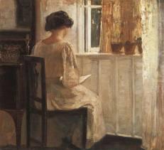 reading woman 2