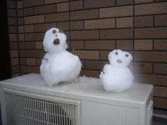 雪だるま20140214