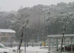 積雪20140214