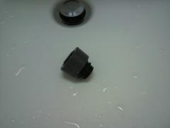 洗面所の蛇口のとれた先