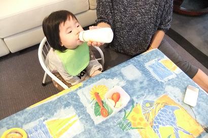 離乳食とミルク