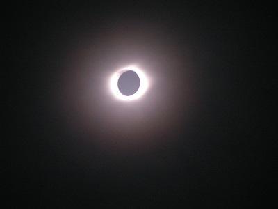 皆既日食2009年硫黄島