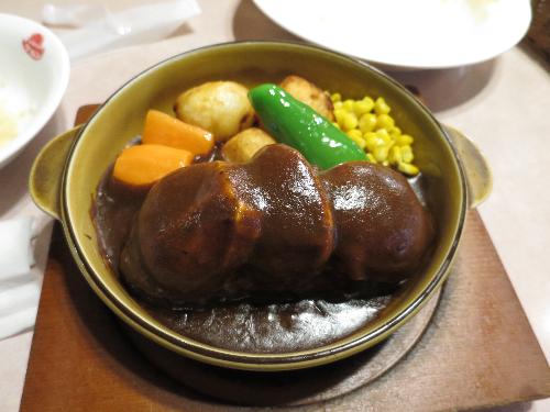 モッツァレラチーズハンバーグ