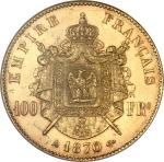 ナポレオン3世1870年AU53 ドル12337500