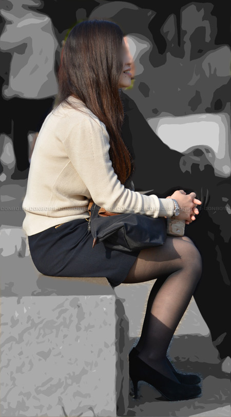 ■vol180-黒ストッキングの魅力