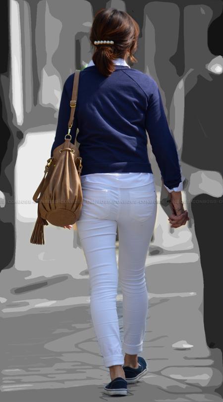 ■vol181-ムチピタ!ホワイトパンツ