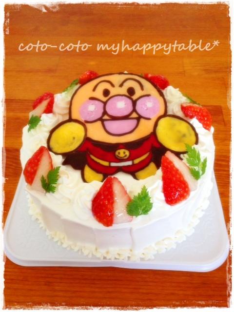 あんぱんケーキ
