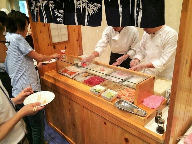 出張握り寿司