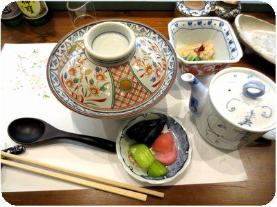 水炊き風カレー茶漬け