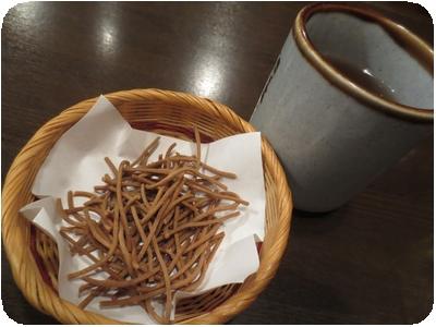 そば茶・揚げ蕎麦