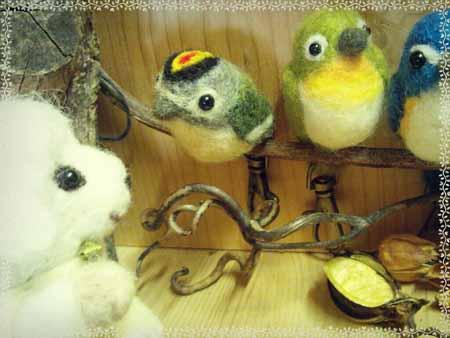 野鳥羊毛0323-8