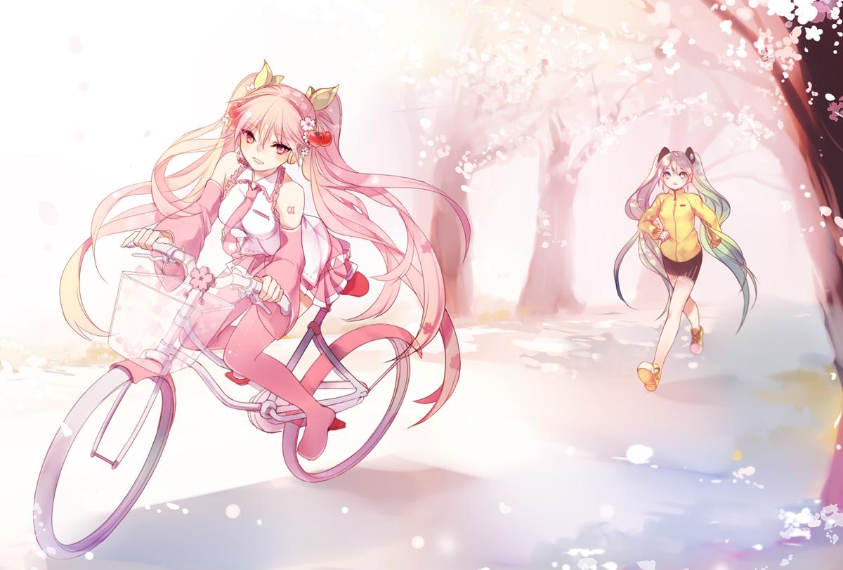 с картинки парень с розовыми волосами аниме