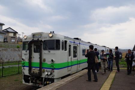 江差線ホーム2