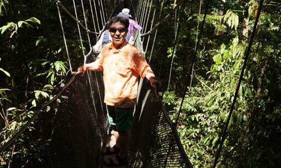 20140420 キナバル公園つり橋 20cmDSC06523