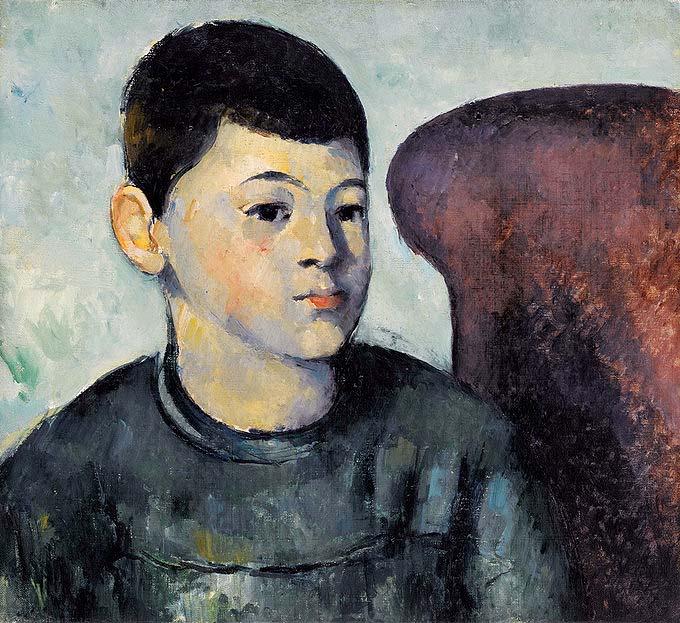 20140617 セザンヌ 芸術家の息子の肖像  1881 24cm 50978