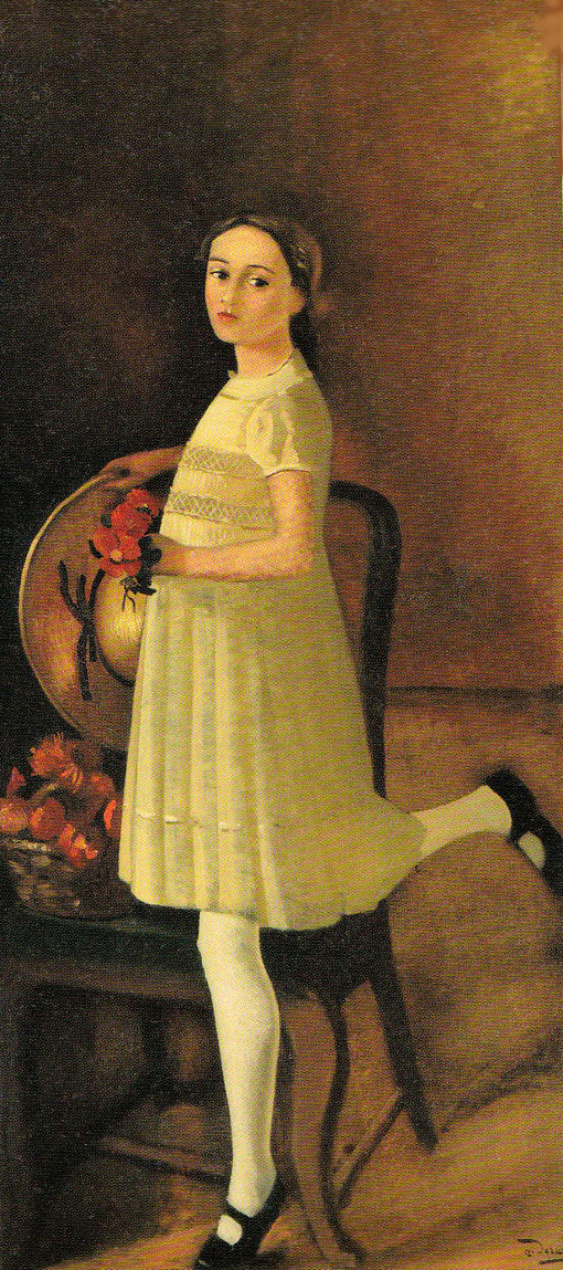 20140618 ドラン 画家の娘 18cm オランジュリー蔵