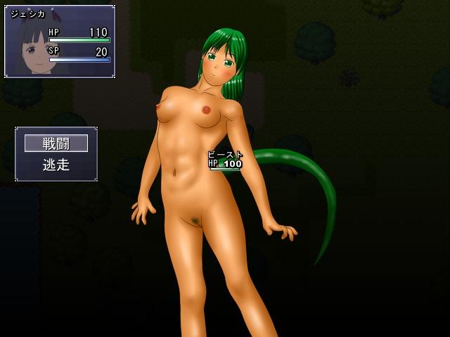 サキュバスプレイ画面2