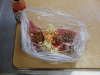 豚もも肉のタバスコ焼き02