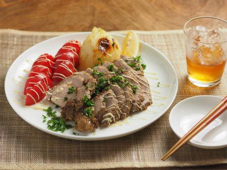 豚もも肉のタバスコ焼き05