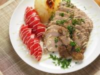 豚もも肉のタバスコ焼き16