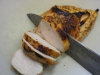 鶏むね肉のタバスコ焼き12