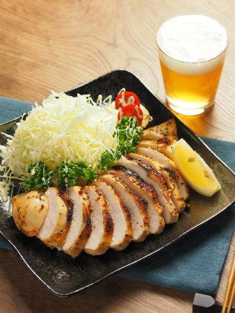 鶏むね肉のタバスコ焼き39