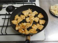 筍と鶏むね肉の照り煮10