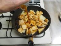 筍と鶏むね肉の照り煮12